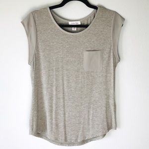 Soft Calvin Klein Short Sleeve Top